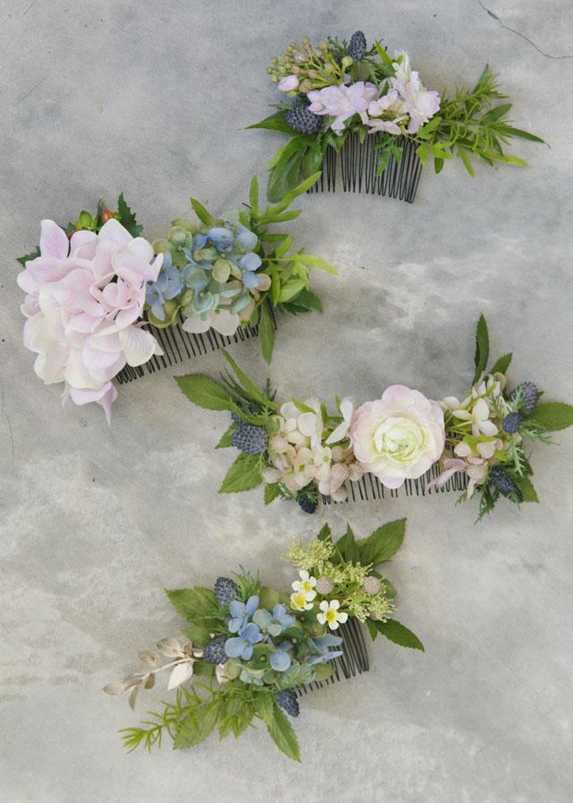 flower-comb-diy-bride and breakfast