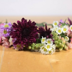 flower crown boho diy fall colors