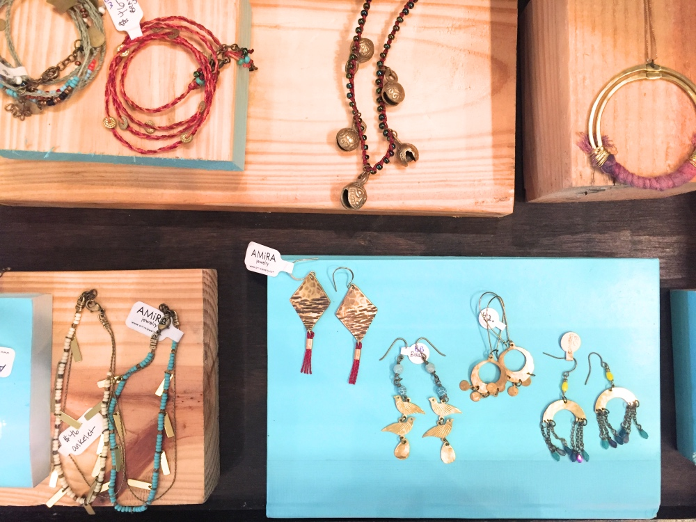 handmade jewelry at space montrose boutique