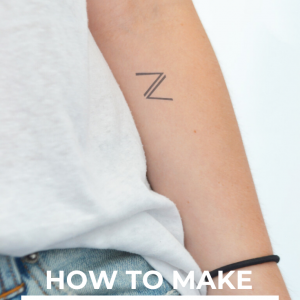 how to make temporary tattoos diy pop shop america