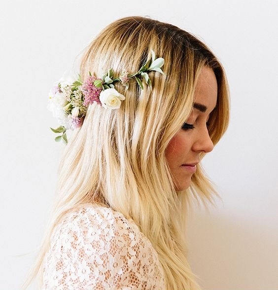 lauren conrad how to make a flower crown diy pop shop america
