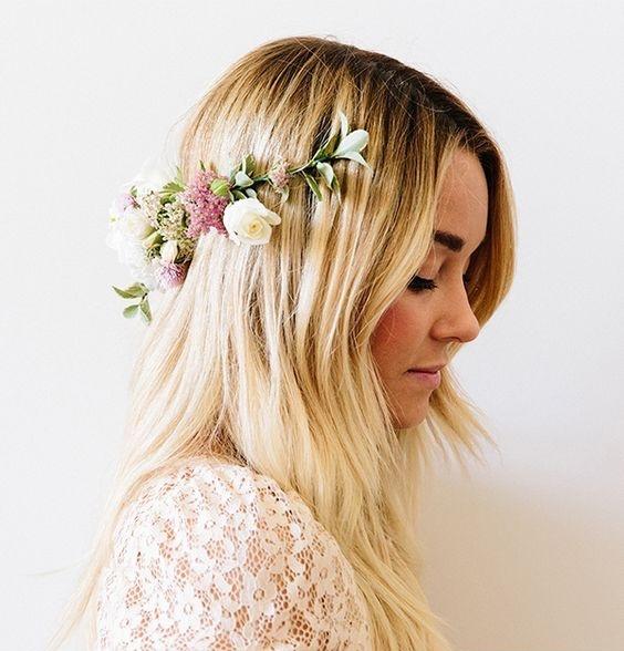 lauren conrad how to make a flower crown diy pop shop america