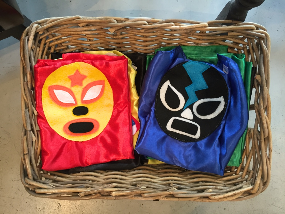luchador capes for kids space montrose houston
