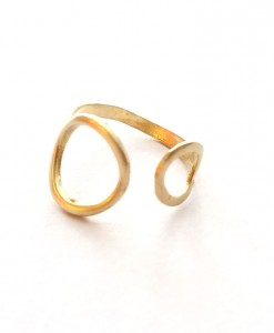 front-of-double-circle-brass-bubble-ring