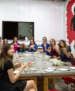 gilding workshop craft class group photo art workshop houston