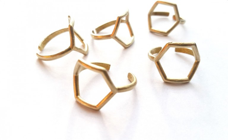 lots-of-brass-hexagon-rings-handmade-rings-style-photo