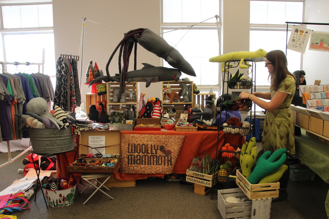woolly mammoth at bloomington handmade market best art markets usa