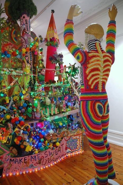 Paul Yore Art EVERYTHING IS FUCKED installation 2013
