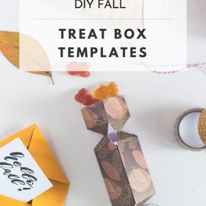 diy fall treat boxes with templates pop shop america