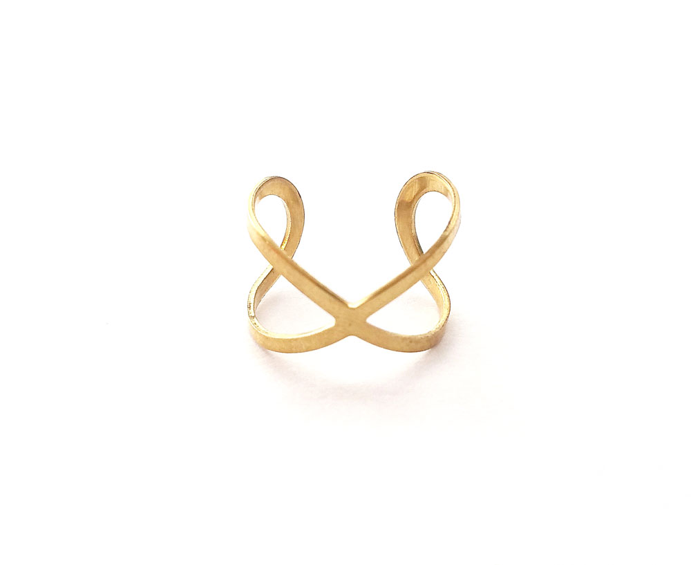Modern infinity ring boho jewelry for Infinity ring jewelry store
