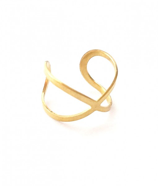 side-view-of-modern-infinity-ring-brass-jewelry