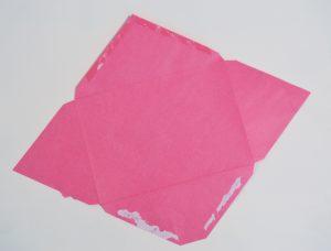 How to Make Envelopes into Ombre Pop Art