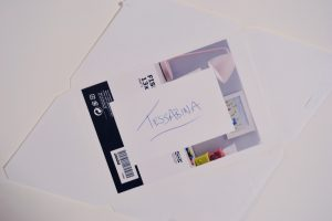 Upcycle Envelopes into Cool Ombre Pop Art