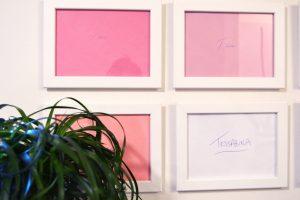 Art by Pop Shop America Handmade Pink Art