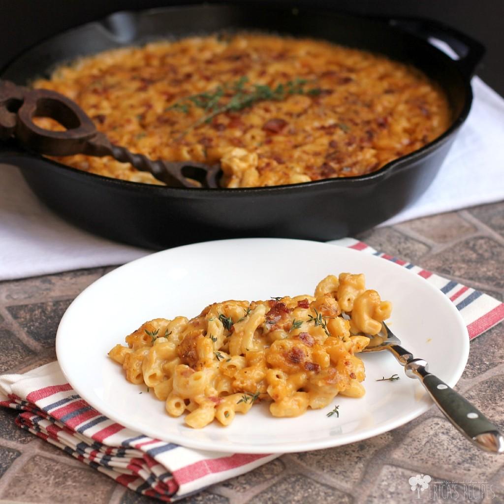 garlic-bacon-and-beer-macaroni-and-cheese
