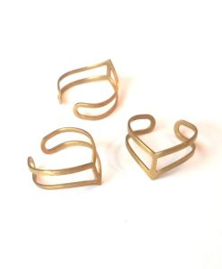 brass-chevron-rings-multi-handmade-jewelry