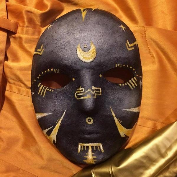 """Muni, Magi, Mana"" Handmade mask 2016"