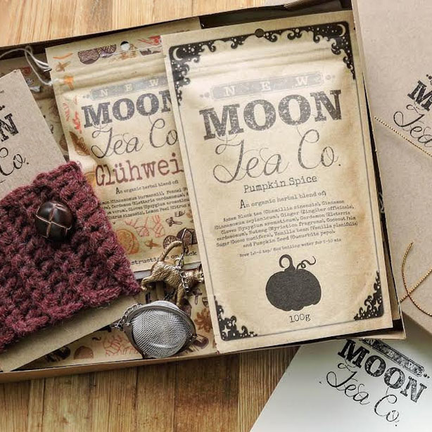 #ShopSmall Christmas Gift Guide For Him: New Moon Tea Co