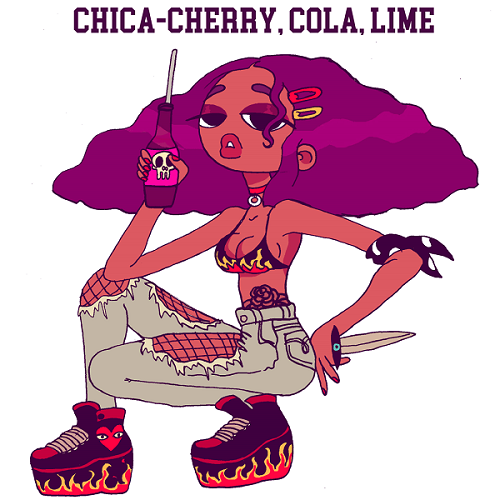 victor-eloi-6 chica Cherry Cola Lime