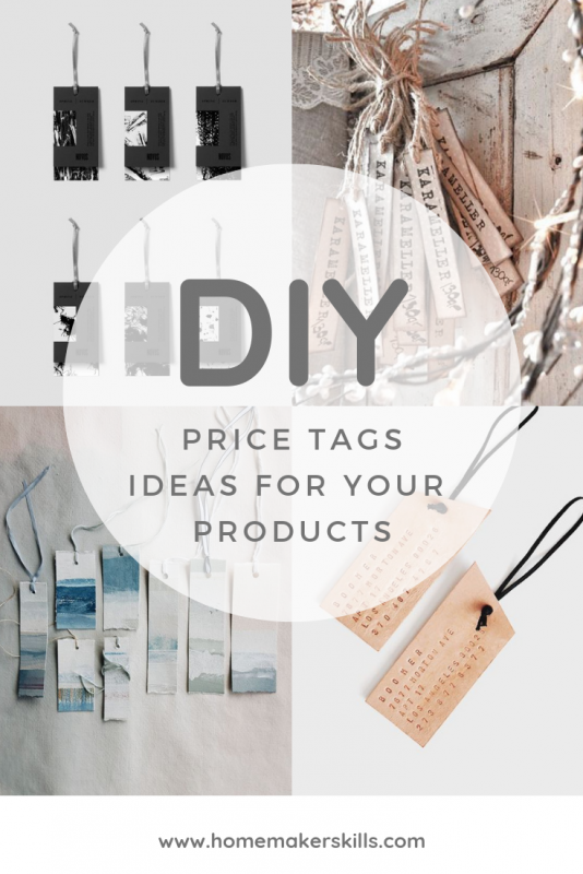 diy price tag ideas for a professional craft business