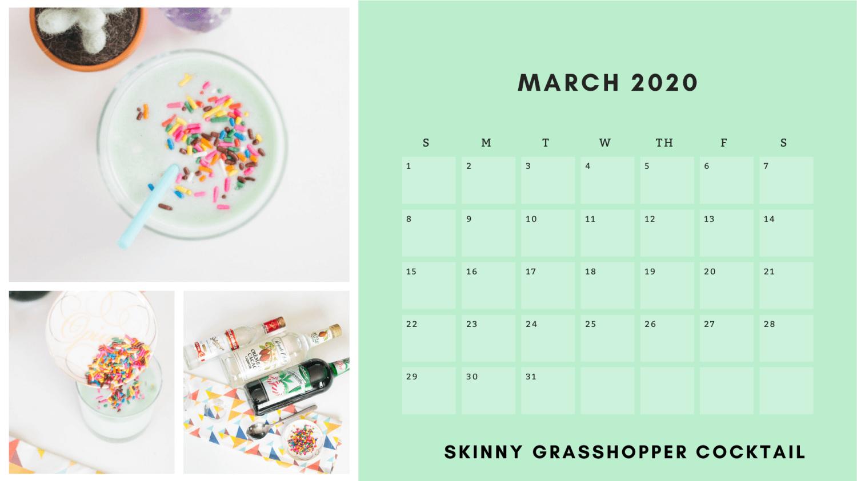 march free printable craft calendar pop shop america