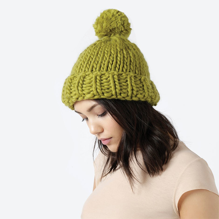 Best knitting projects: easy and simple Lucy Beanie