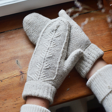 Best knitting projects: feminine Treehouse mittens