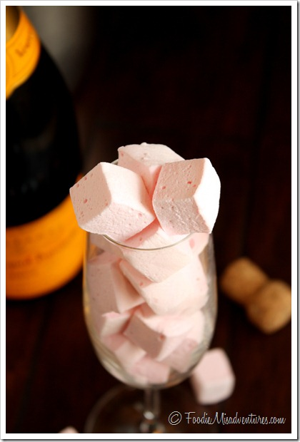 Champagne Marshmallow recipe