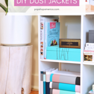 DIY Dust Jackets Tutorial Pop Shop America