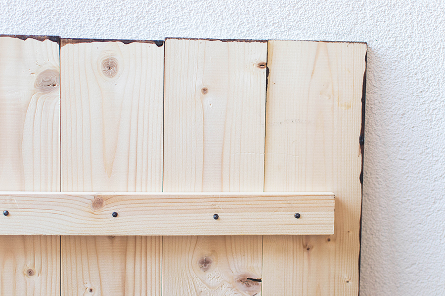Details of white distresed wooden DIY photography background