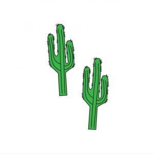 cactus temporary tattoos pop shop america