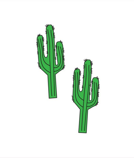 cactus temporary tattoos pop shop america