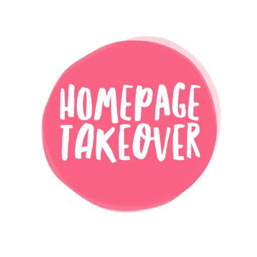 homepage takeover ad pop shop america