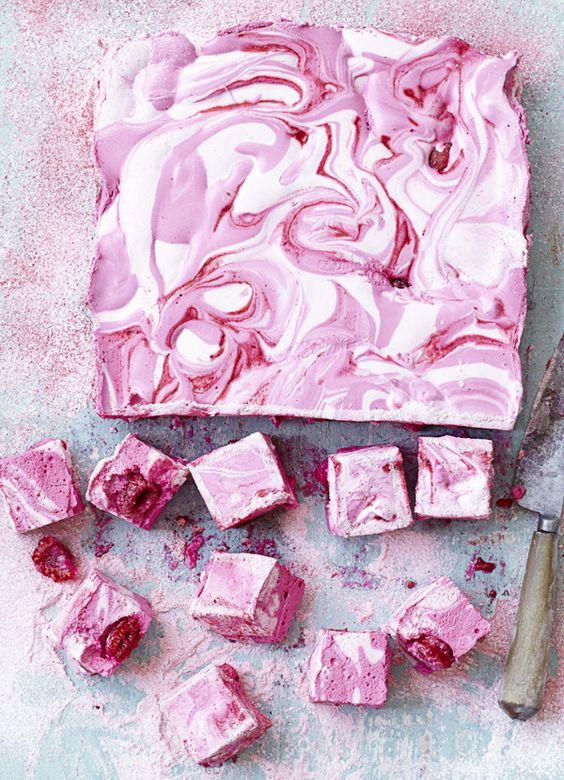 Raspberry Ripple Marshmallow Recipe Pop Shop America