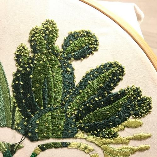Jess_de_Wahls_Embroidery Art 14_1 Cacti Detail
