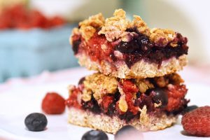 Mixed Berry Bars