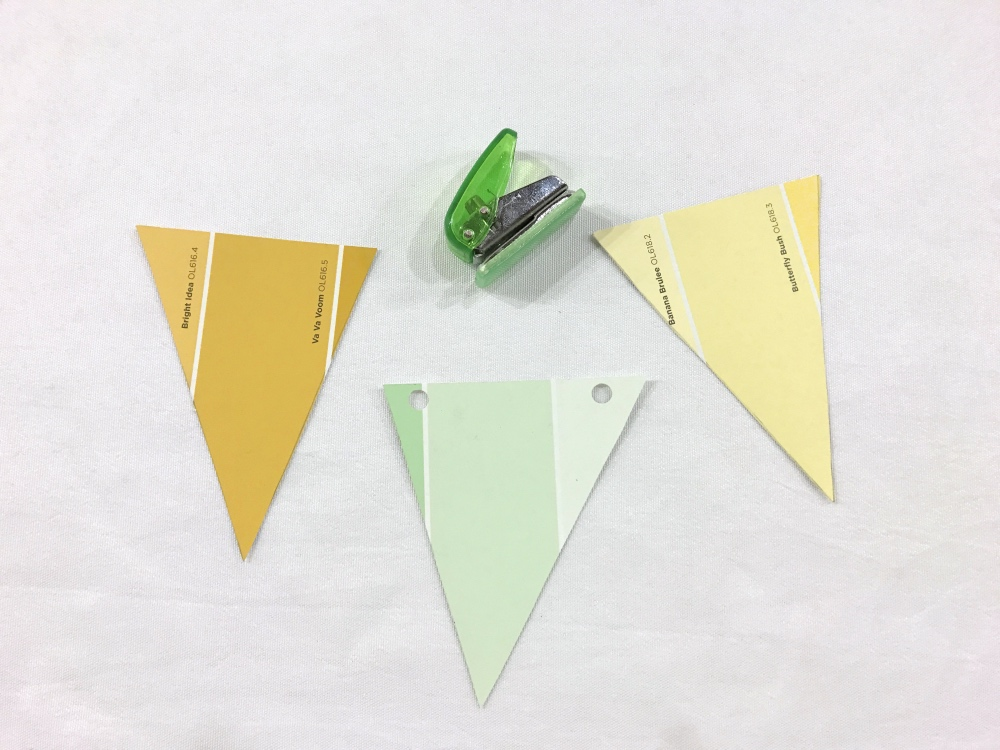 bunting recolored how to make a party garland with nix pro