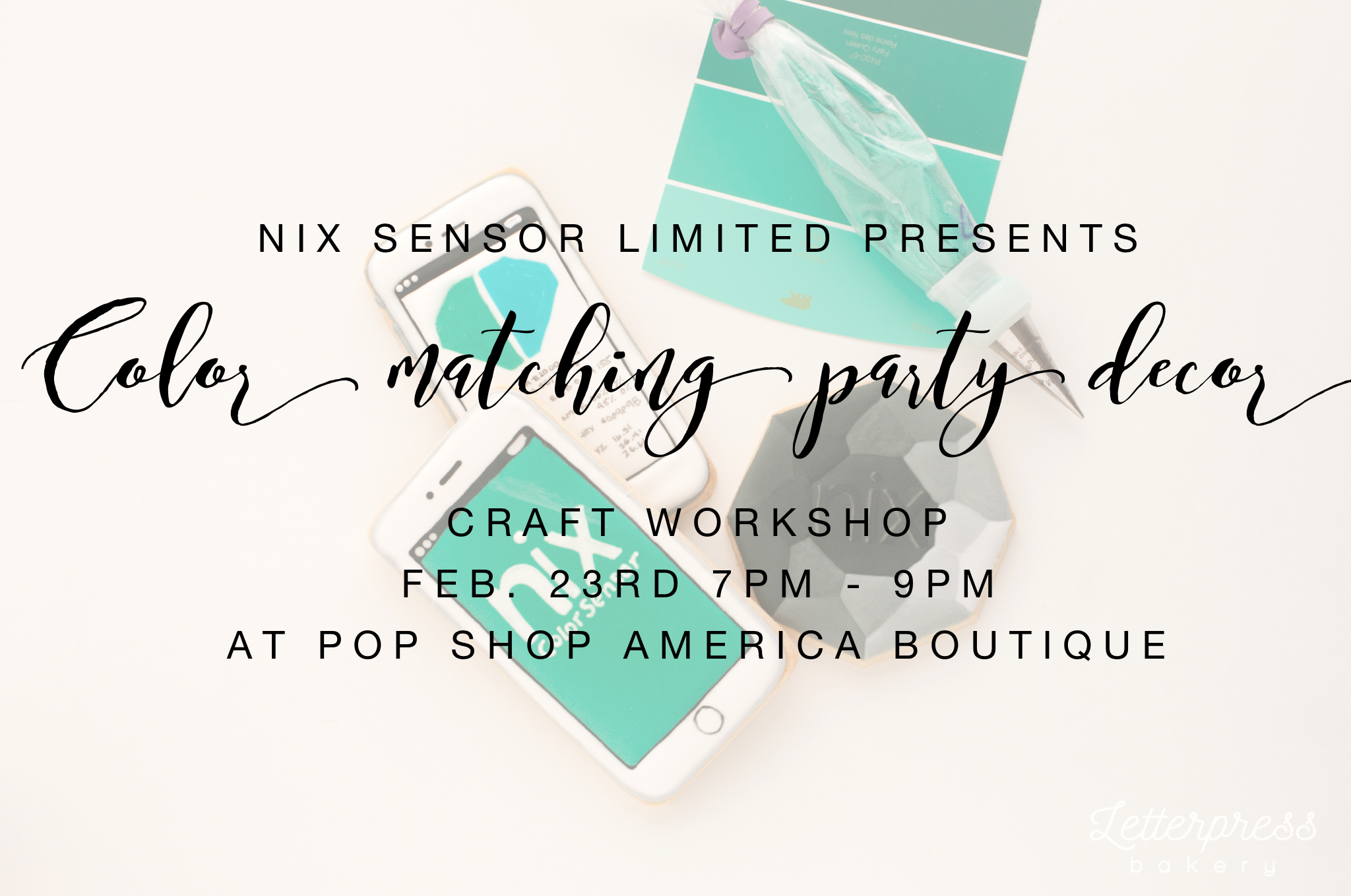 nix color matching craft workshop houston pop shop america