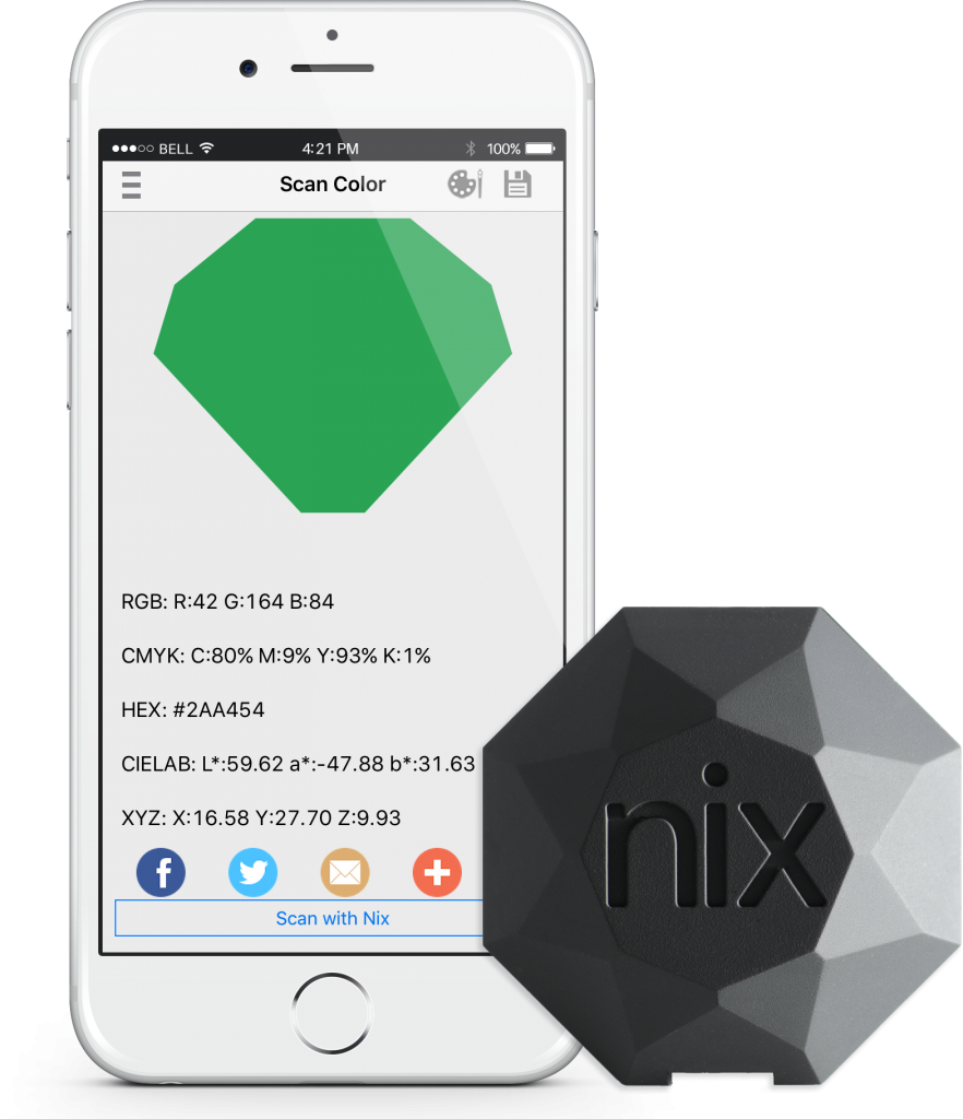 nix pro color sensor how to scan pop shop america blog