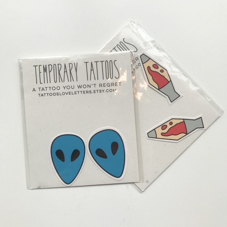 temporary tattoos by tattoos and love letters pop shop america