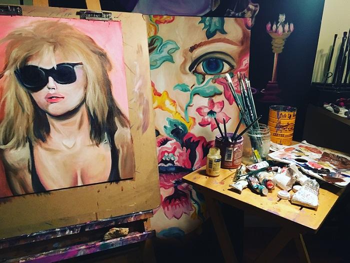 Hannah Bull Artist_Studio