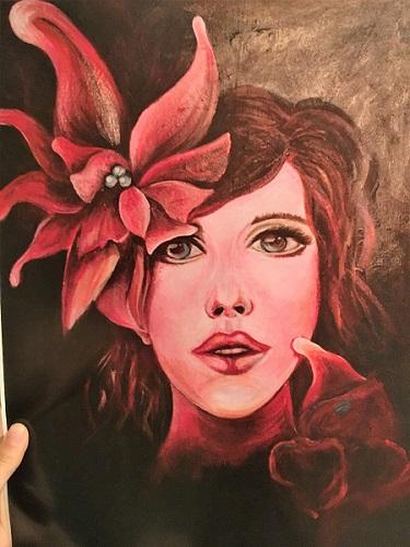 Hannah Bull Portrait Painting