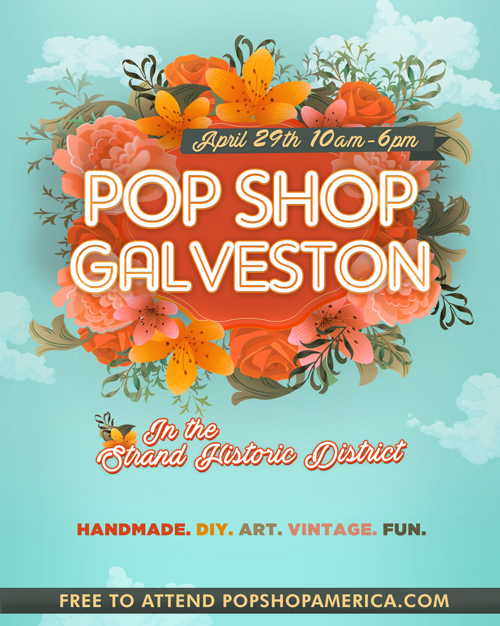 Popshop_Galvestion_ Handmade Shopping Craft Fair