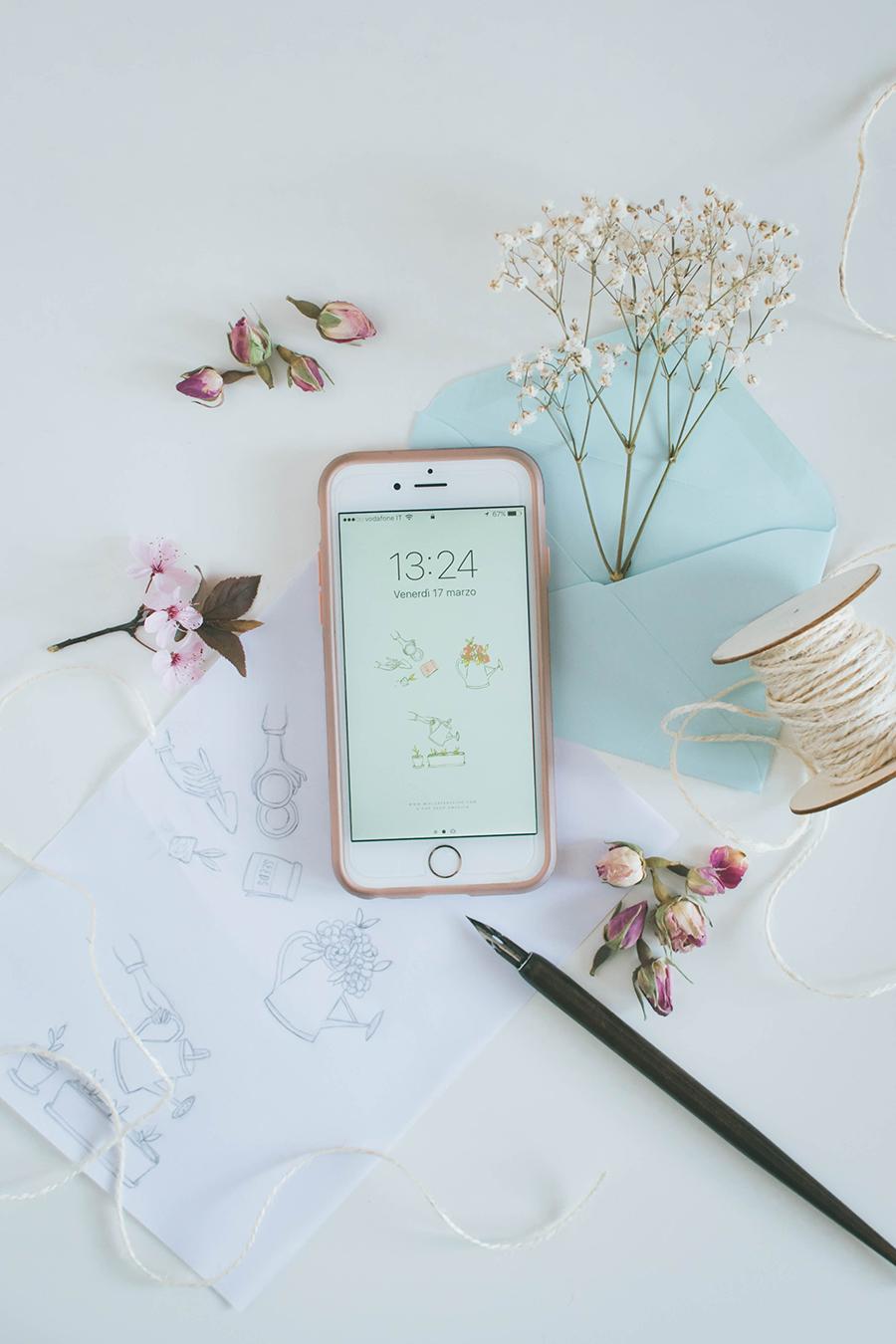 Spring Wallpaper Free Download iPhone Smartphone