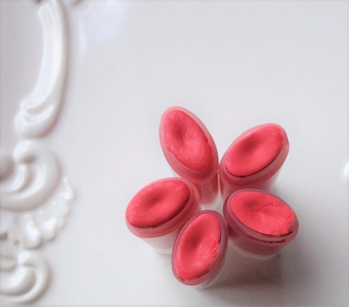 citrus coral lip and cheek stain handmade beauty products