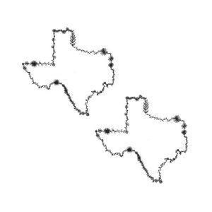 floral texas temporary tattoos