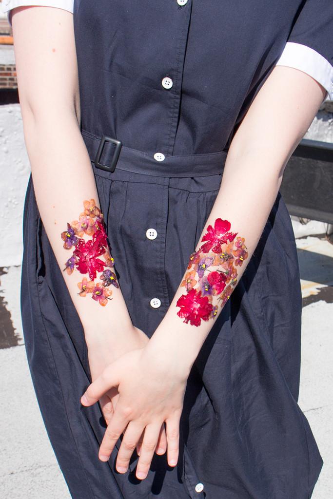 flower temporary tattoos pop shop america