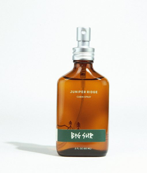 juniper ridge cabin spray big sur