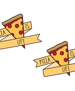 pizza temporary tattoos pop shop america