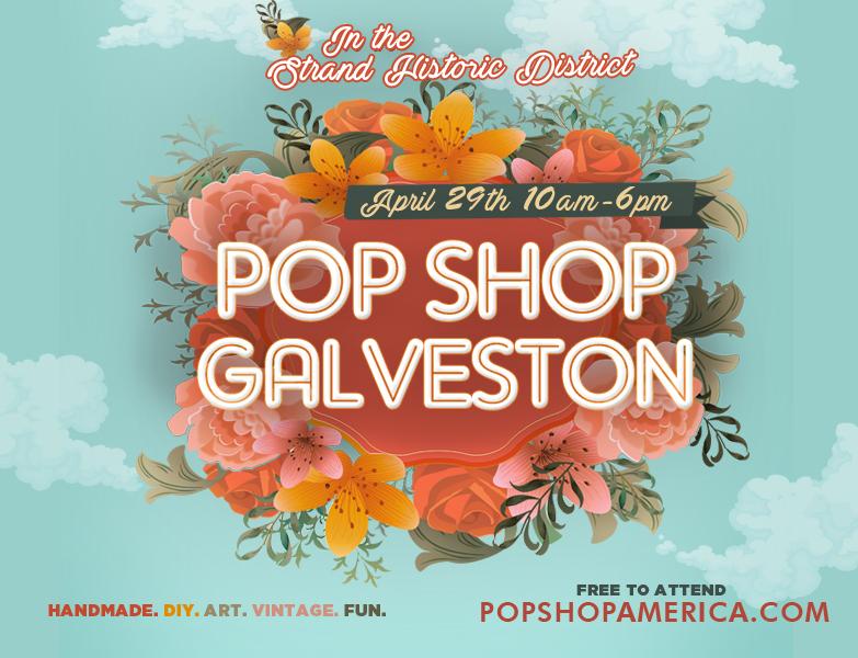 pop shop galveston 2017 handmade craft fair galveston tx